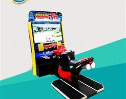 TT摩托赛车游戏机
