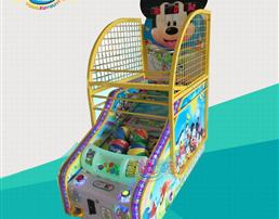 儿童投币游戏机篮球机
