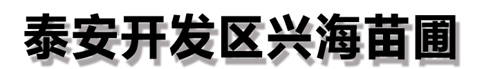 湖南兴海苗木种植合作社
