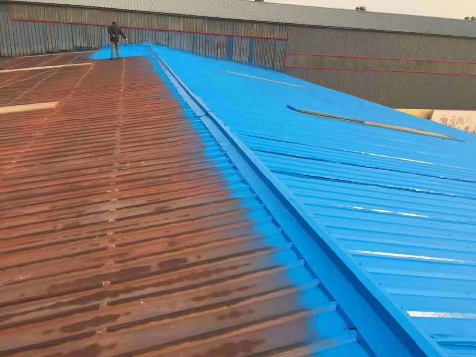 安康钢结构屋面喷砂防腐 陕西儒亿彩钢瓦喷漆报价