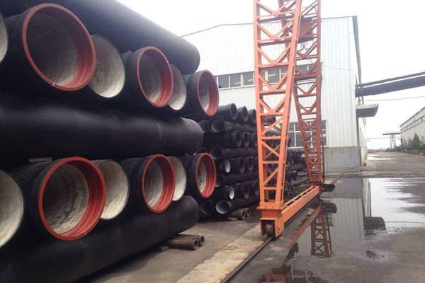 海东球墨铸铁排水排污管经销商
