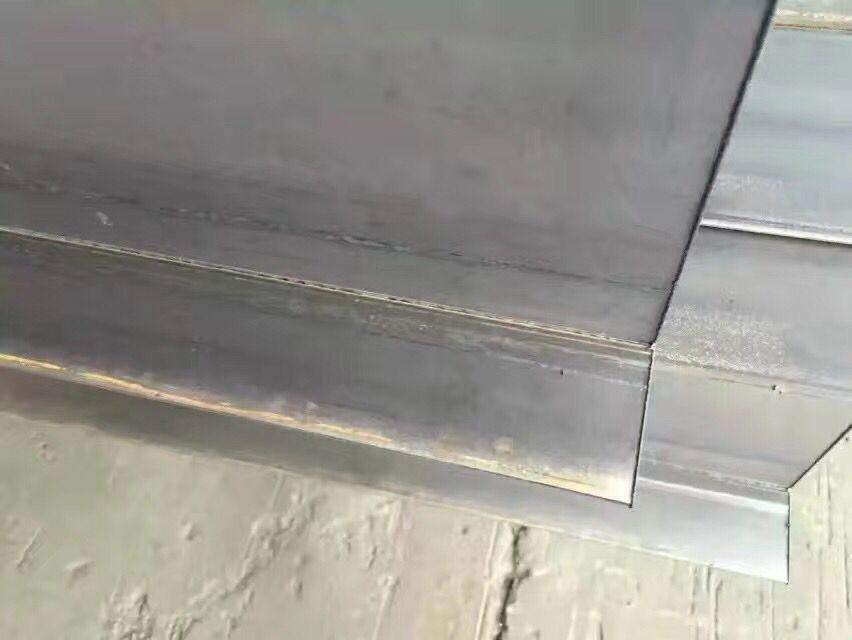 新余热轧h型钢除锈喷漆