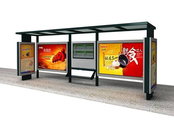 天津不锈钢公交站台实力厂家