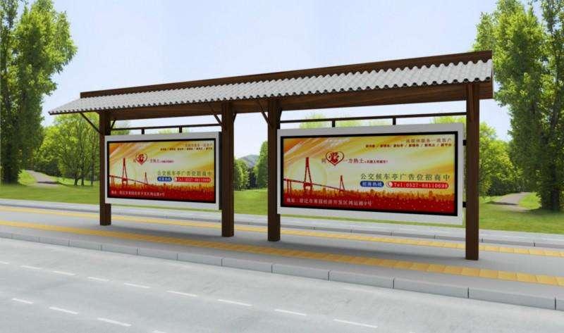 天津市不锈钢公交站台实力厂家
