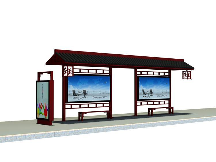 沧州不锈钢公交站台