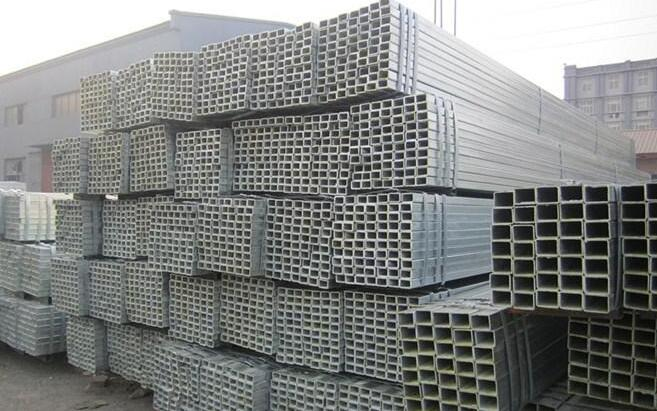 烟台130X130X6镀锌方管~电厂用Q345B方管喷砂打孔