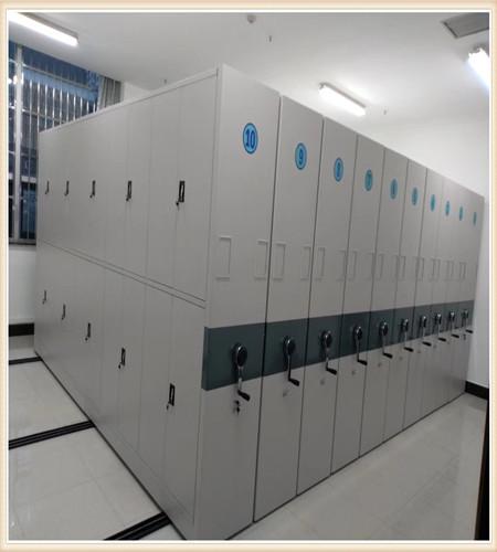 东营钢制手动密集柜生产厂家