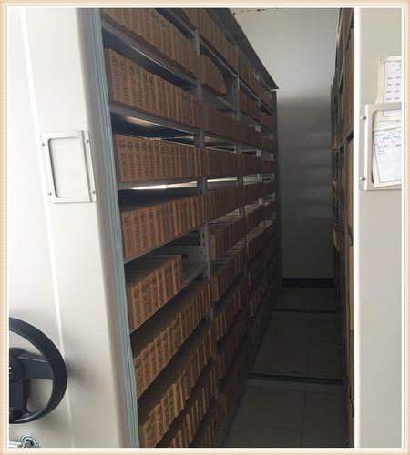巢湖档案室活动密集柜测量