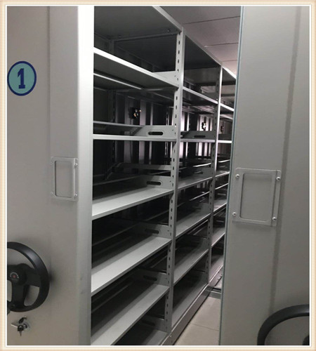 宿州档案室手动密集架香樟木