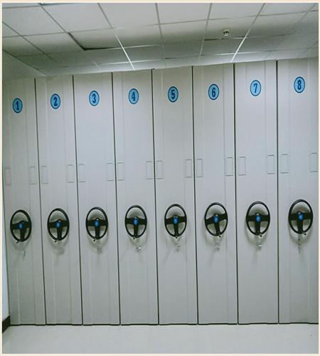 莆田税务专用智能电动密集架上门安装