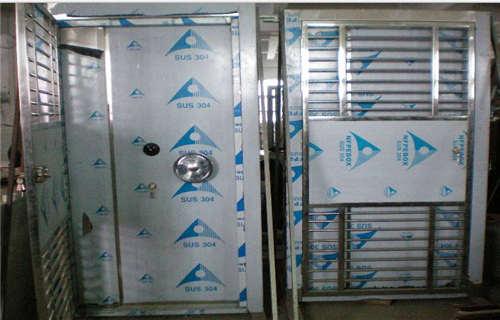 蚌埠不銹鋼防水金庫門網上銷售