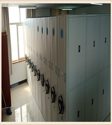 北京图书馆智能密集书架日常维修