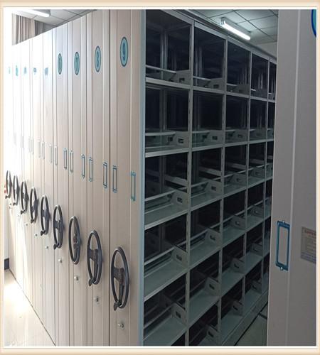 北京档案室手动密集架电力柜