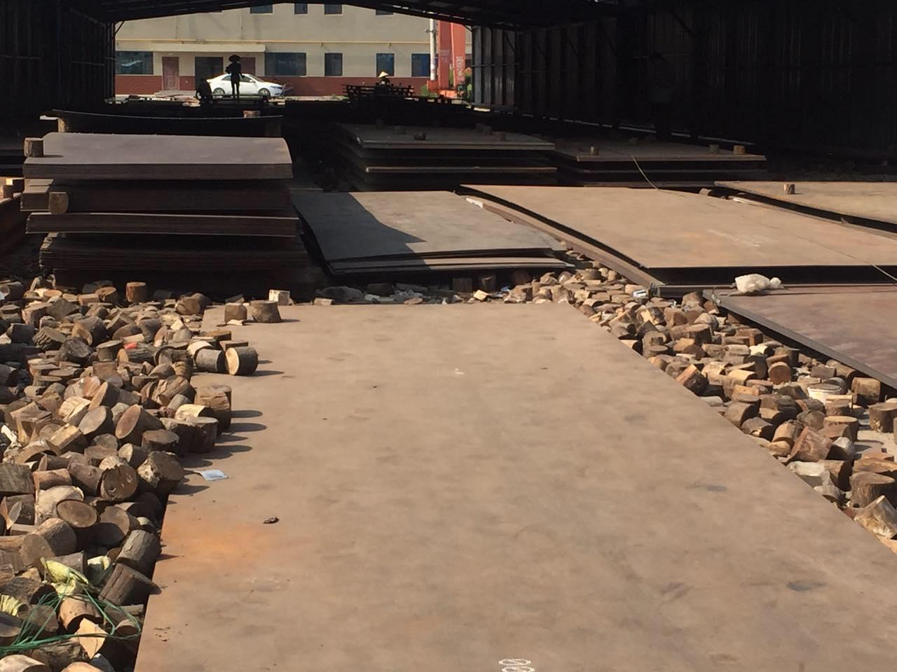 河北新钢耐磨NM360钢板现货