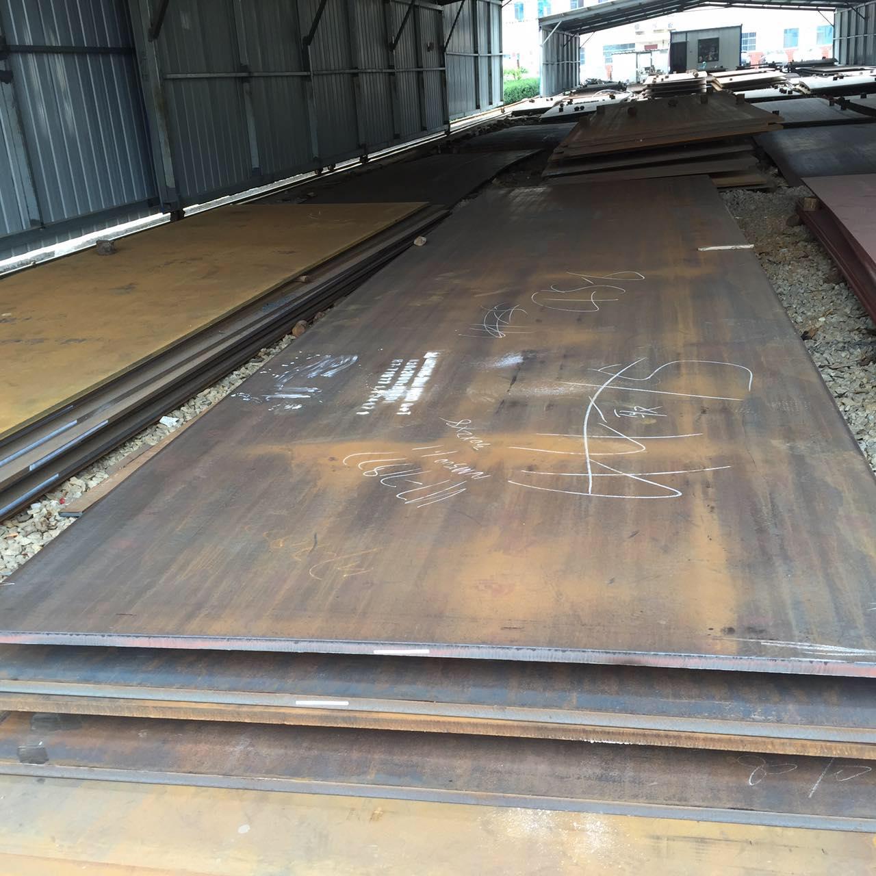 抚州宝钢NM450钢板切割现货