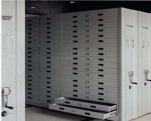 黔西南电动资料柜手动密集柜厂家底图密集架价格