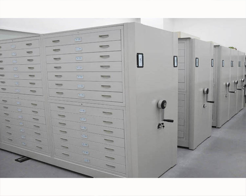 安康电动档案密集柜底图密集柜厂家
