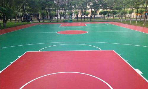伊川篮球场地标准尺寸