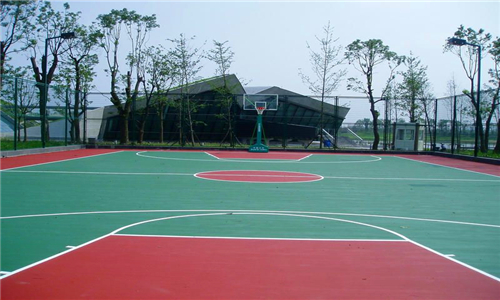 嵩县篮球场地硅pu材料价格