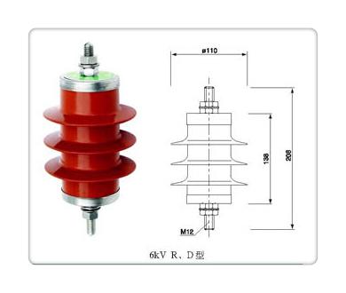 临沂HY5WS2-7.6/30氧化锌避雷器价格优惠
