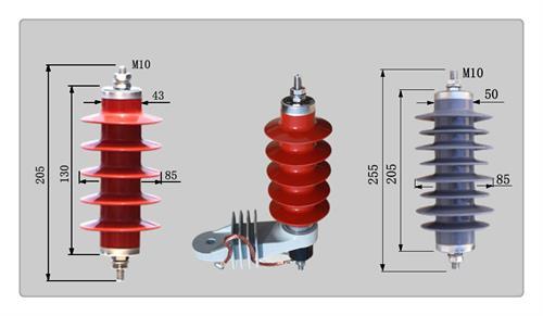蚌埠HY10WR-17/45氧化鋅避雷器價格優惠