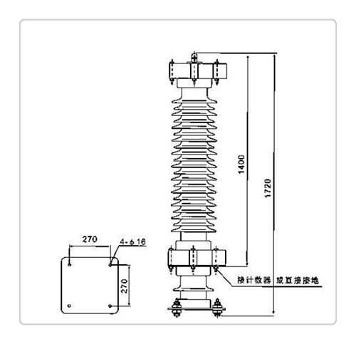安康HY5WS2-17/50氧化锌避雷器价格优惠