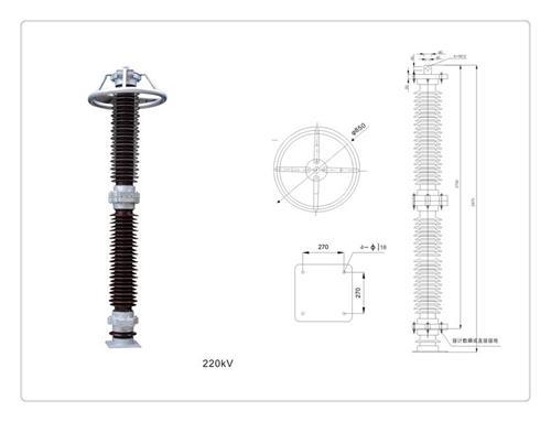 安康HY5WR-7.6/27氧化锌避雷器价格优惠