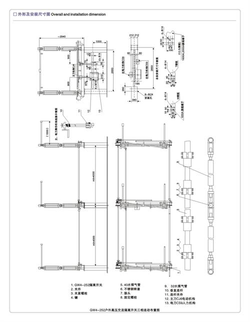 安康GN19-10C3/630-20高压隔离开关
