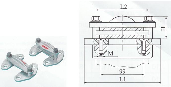 乌鲁木齐MGF-80固定金具