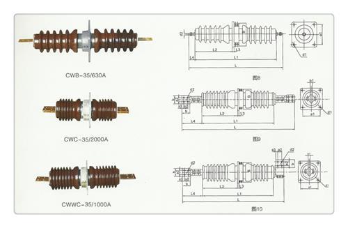 CWWB 10 1250高压穿墙套管