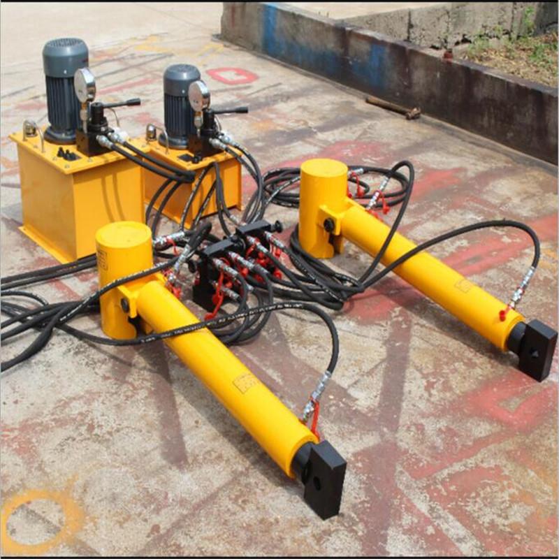 黔西南在轨重物液压推移机可连续工作