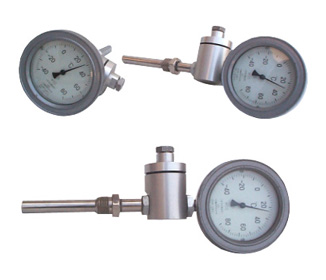 湖北固定螺纹径向型电接点双金属温度计参数