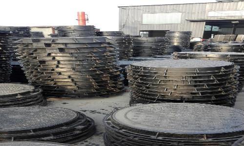 临沂圆形球墨铸铁井盖生产厂家