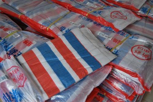 蚌埠紅白藍條彩條布生產廠家