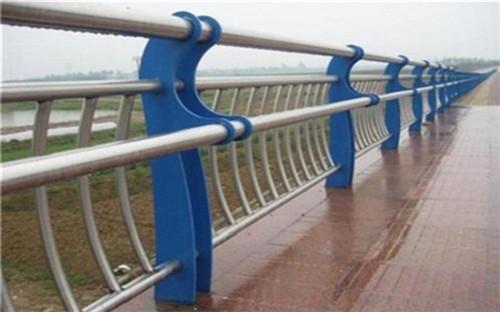 宝鸡桥梁护栏 河道景观护栏声名远扬