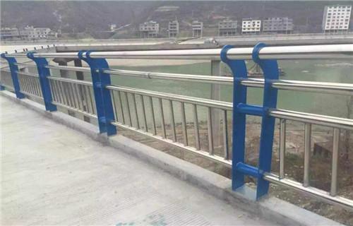 张掖不锈钢河道观光护栏  质量今日价格