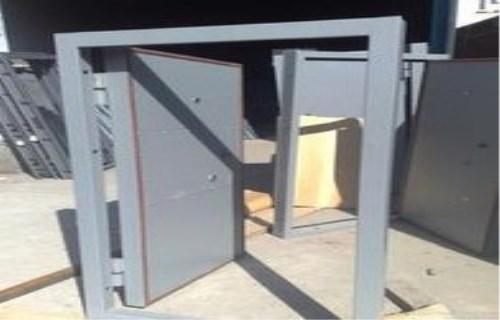 石泉厨房防爆门维修