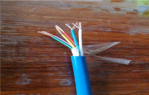 山西五芯矿用拉力通信电缆在