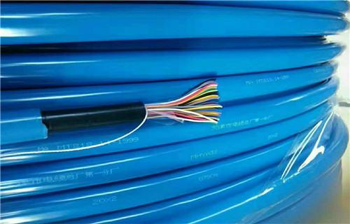 漳州八芯矿用拉力电缆带插头商情
