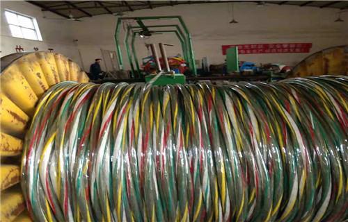 马鞍山矿用拉力通信电缆常用规格列表