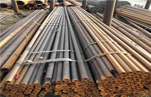 吉利Q345B镀锌无缝钢管生产厂家多少钱一吨长丰钢管