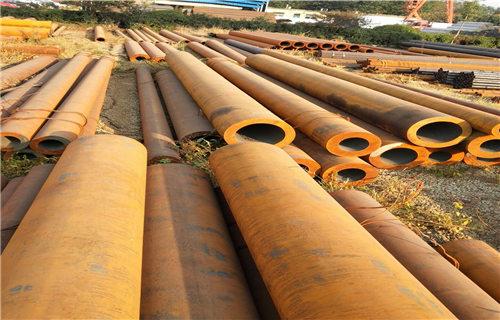 河口27SiMn结构无缝钢管生产厂家多少钱一吨长丰钢管