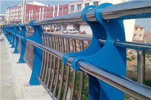 金昌不锈钢桥梁栏杆立柱包安装