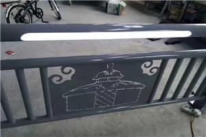 呼和浩特不锈钢碳素钢景观栏杆用料多少