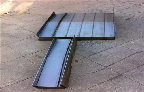 台州有荣喜力XH715数控机床专用钢制防护板特性