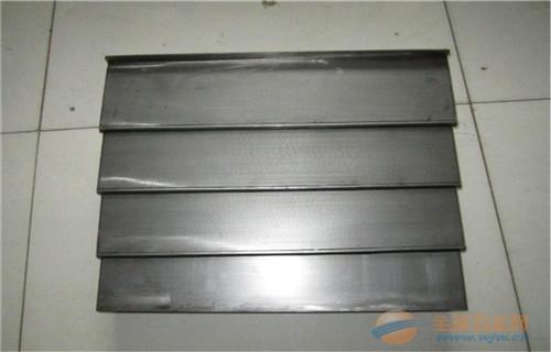 荆州华强精密VMC850伸缩式钣金导轨伸缩式护板经验