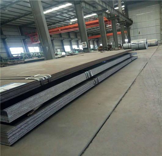 日喀则耐候钢板上乘质量万吨库存