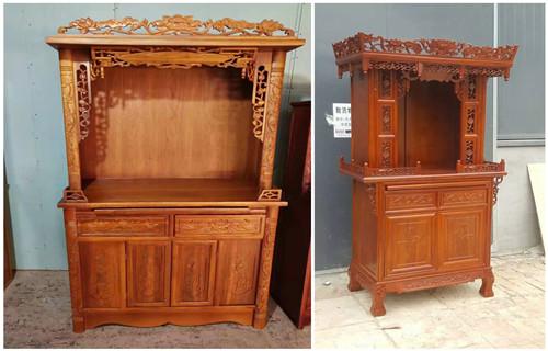 西安实木佛桌制作生产厂家