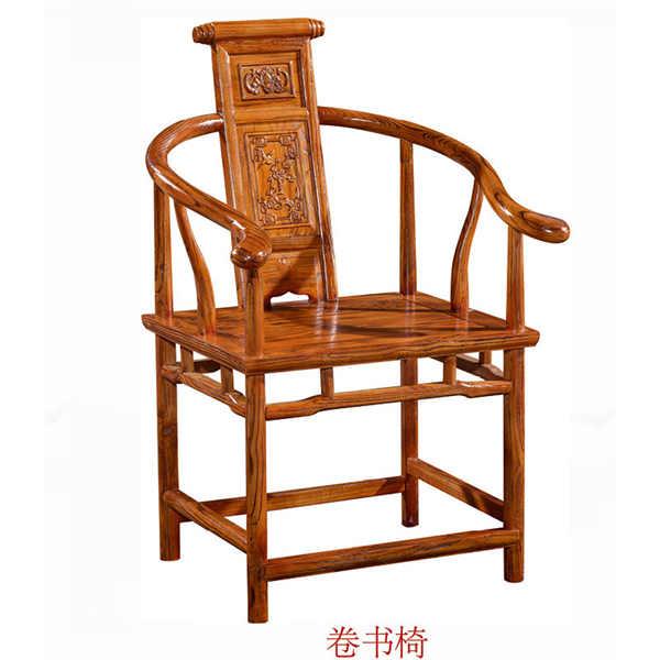 象头椅榫卯结构图解