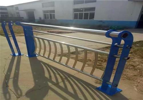 辽宁锦州桥梁不锈钢景观河道栏设计